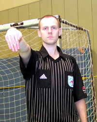 Handball Schiedsrichter Regeltest